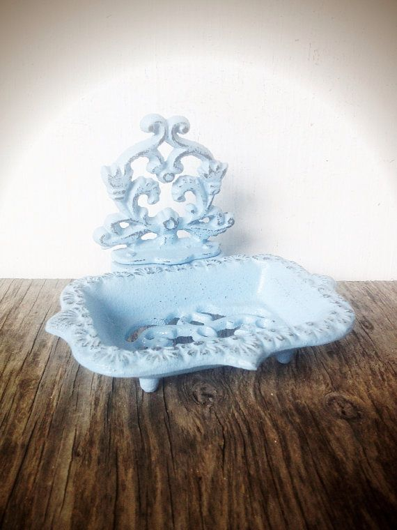 Bold Periwinkle Blue Business Card Holder Soap Dish