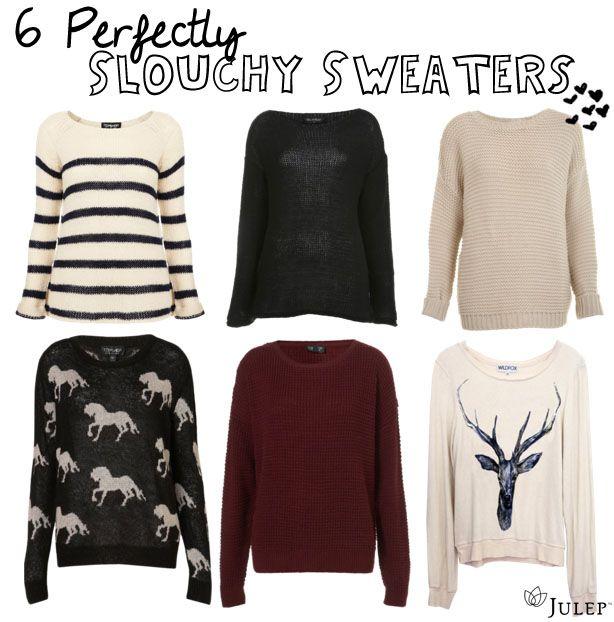 slouchy sweaters #winter #fashion | fashion inspiration ...