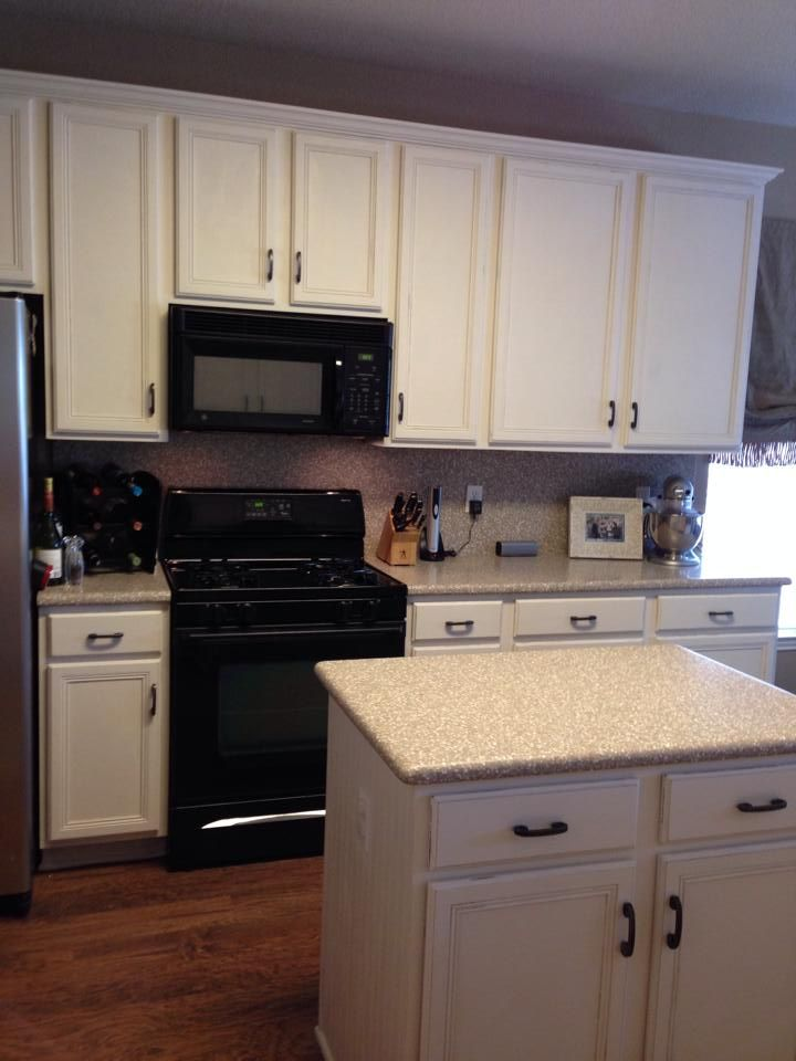 Kitchen Make Over With CeCe Caldwellu0027s Paints In Dover White