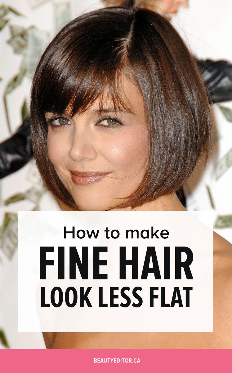 Ask A Hairstylist The Best Hairstyles For Fine Flat Hair Flat Hair Fine Hair Hair Looks
