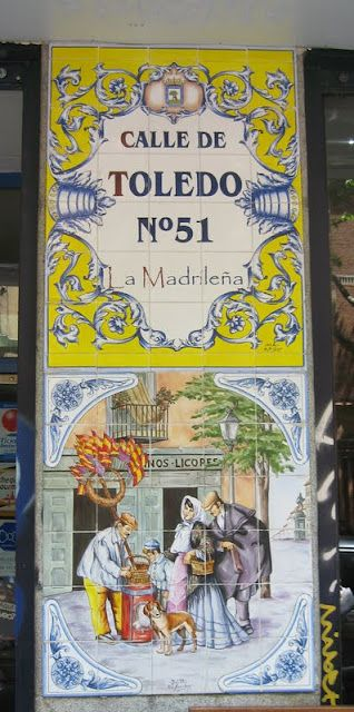 Tiles from Madrid, Spain