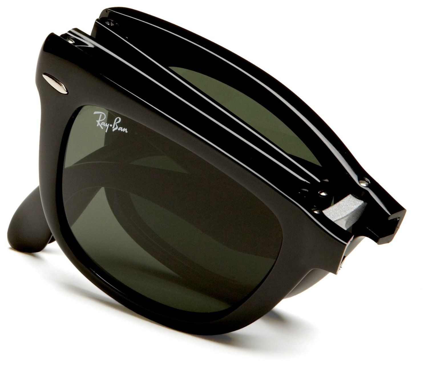 rb4105 qea2  Amazoncom: Ray-Ban Unisex RB4105 Folding Wayfarer Sunglasses,Black Frame/