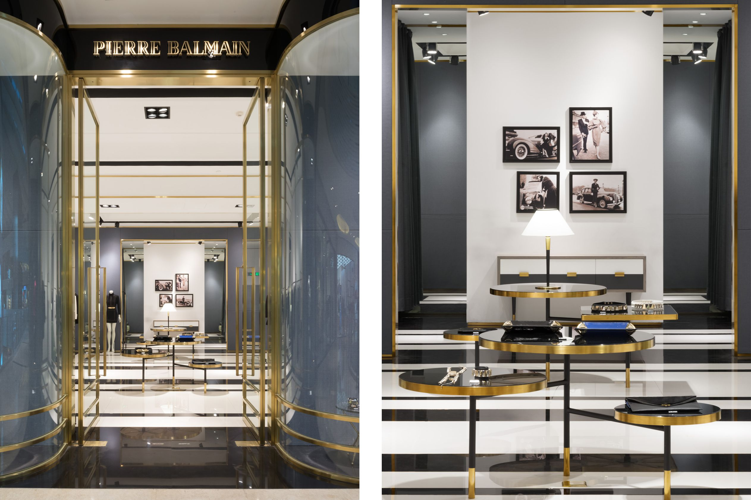 In Situ Partners Pierre Balmain L Avenue Shanghai With