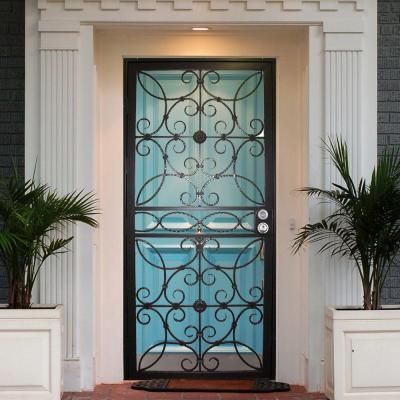 The 25 Best Wrought Iron Security Doors Ideas On