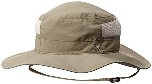 a818639b Amazon.com: Columbia Men's Bora Bora Booney II Sun Hat, Grill, One Size:  Sports & Outdoors