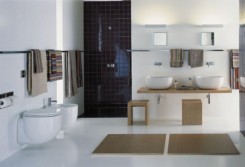 Porte essuies | Maison : idées | Pinterest | Salle de bains, Salle ...