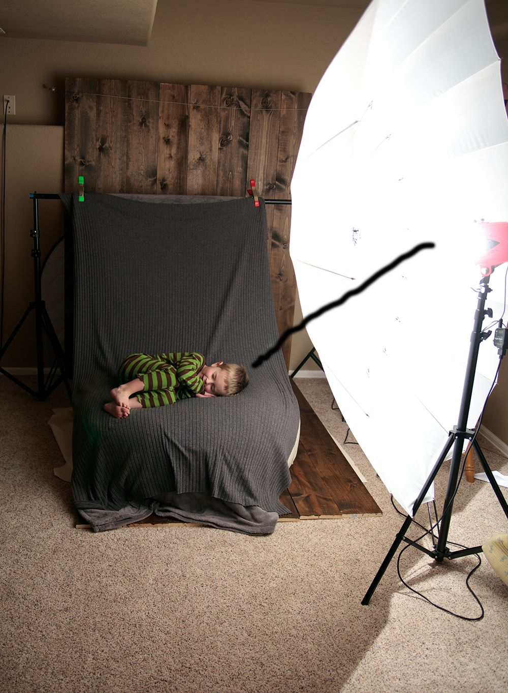 I have been using studio lighting for about 18 months now prior to