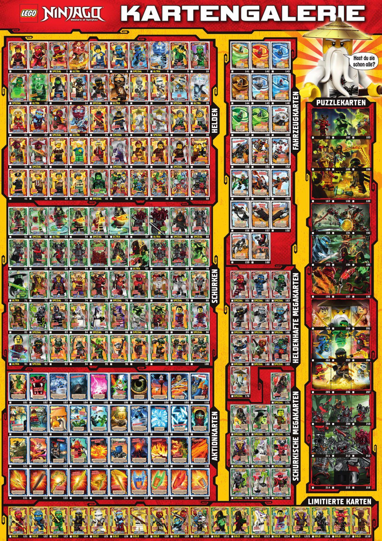 Lego Ninjago Serie 5 Sammelkarten Kaufen Ninjago Trading Cards Lego Ninjago Lego Ninjago