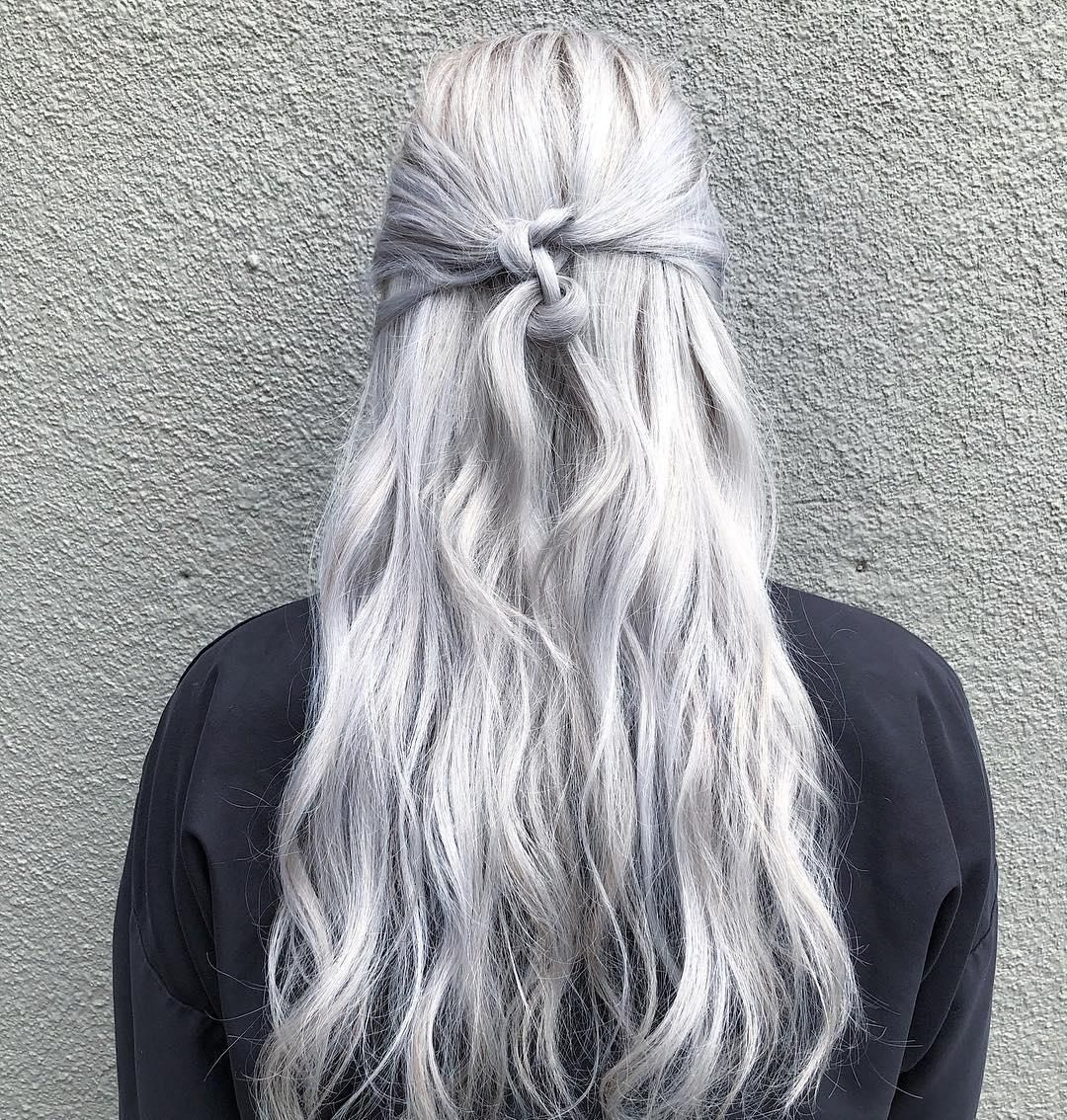Icy Silver Platinum Blonde Aveda Hair Color By Aveda Artist Olivia