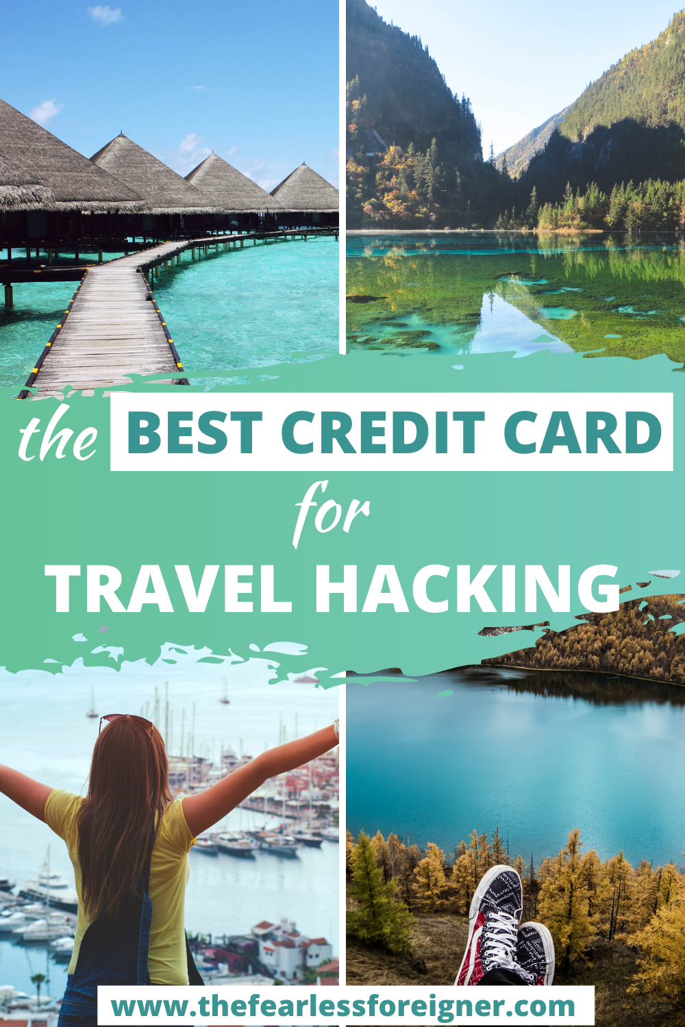 Travel hacking is one of the easiest ways to save money for travel. One of the best ways to travel hack is with a rewards credit card. Find out the best credit card for earning travel rewards.   #TravelHacking #TravelTips #TravelCreditCard #ChaseSapphireReserve #TravelAdvice #TheFearlessForeigner