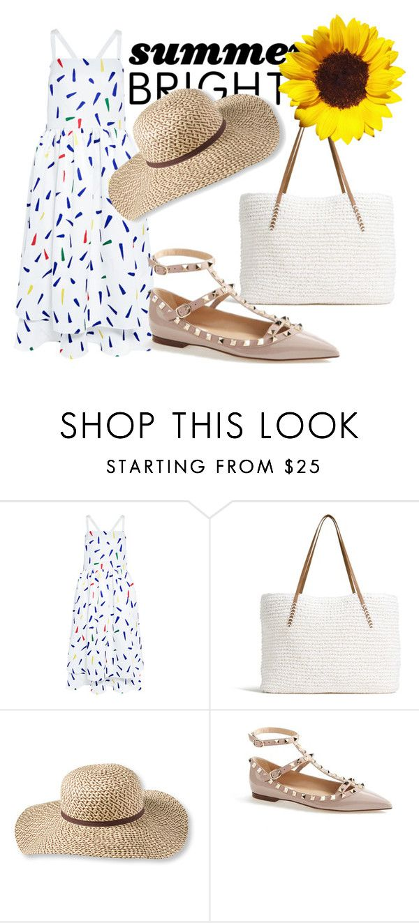 """""""summer"""" by neverdie555 ❤ liked on Polyvore featuring Edit, G.H. Bass & Co., L.L.Bean, Valentino and summerbrights"""