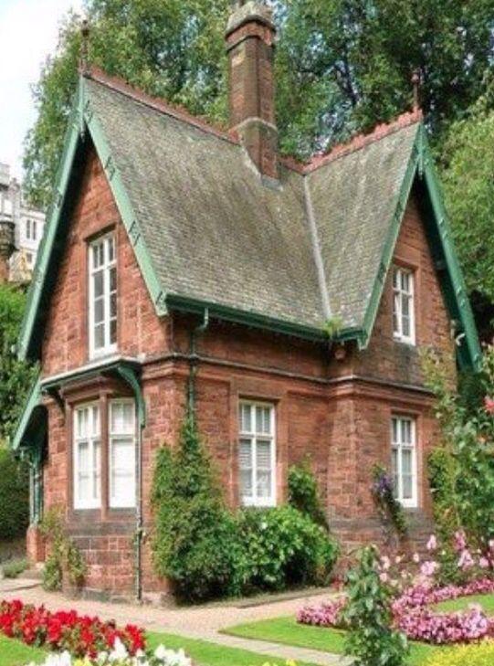 quaint brick cottage epiphany exteriors houses. Black Bedroom Furniture Sets. Home Design Ideas