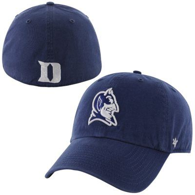 47 Brand Duke Blue Devils Franchise Fitted Hat - Royal Blue ... ac25fa78dd97