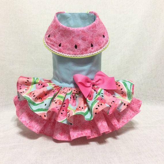 Fresh Watermelon Dog Dress