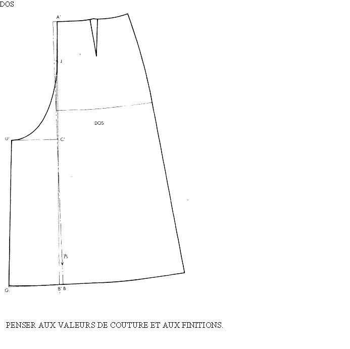 créations de patrons femme n°8(la jupe culotte) … | skirt | Pinte…