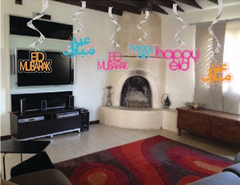 Best ideas for eid party deoration ideas for eid 2014 for Ramadan decorations at home