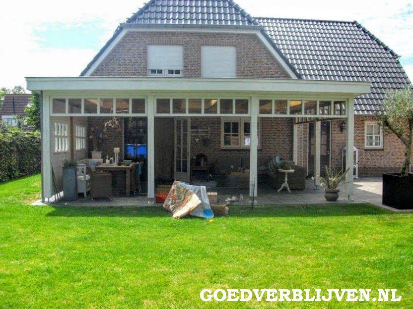 Afbeeldingsresultaat voor overkapping aan huis