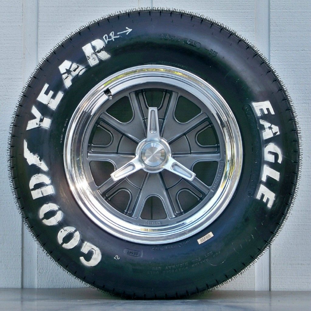 WHEEL AND TIRE PACKAGES 15 INCH : Vintage Wheels, Mustang, Hot Rod ...