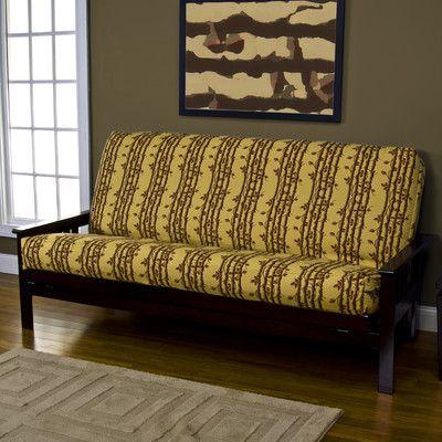 Sticks and Stripes Zipper Futon Slipcover - http://delanico.com ...