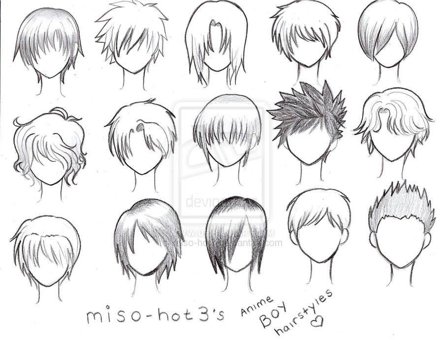 How To Draw Anime Tutorial With Beautiful Anime Character Drawings Anime Character Drawing Anime Boy Hair Manga Hair