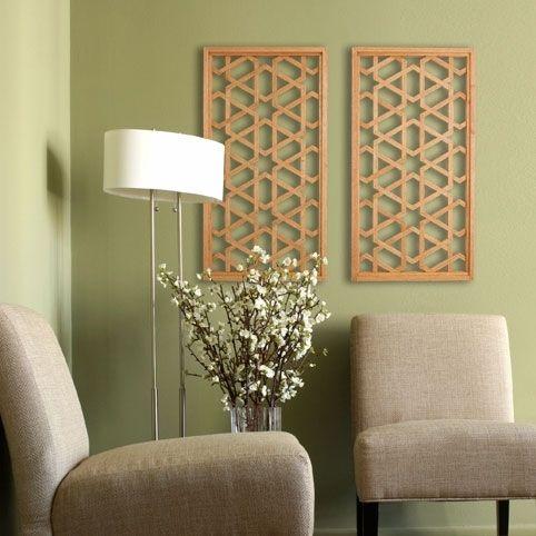 quelques id es de d co orientale faire soi m me tableaux en bois inspir s de l 39 architecture et. Black Bedroom Furniture Sets. Home Design Ideas