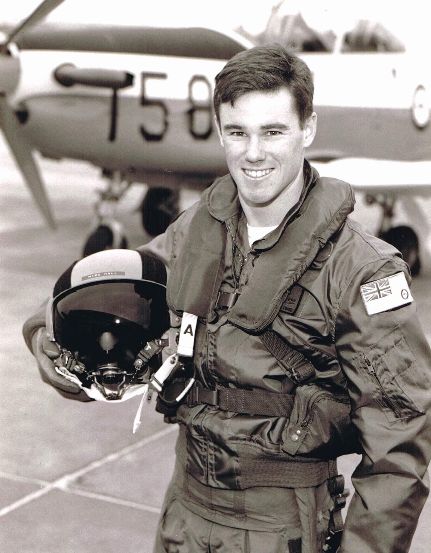 RAAF pilot now Redbull Air Racer; Matt Hall Royal
