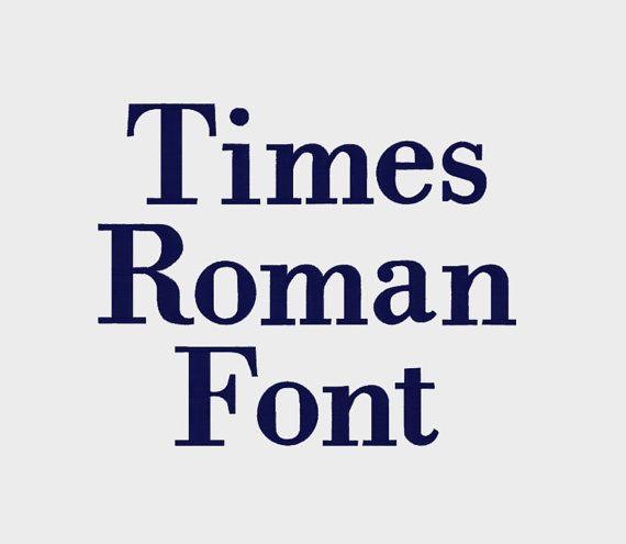 Times Roman Machine Font Alphabet In Multiple File Formats 3 Sizes 1