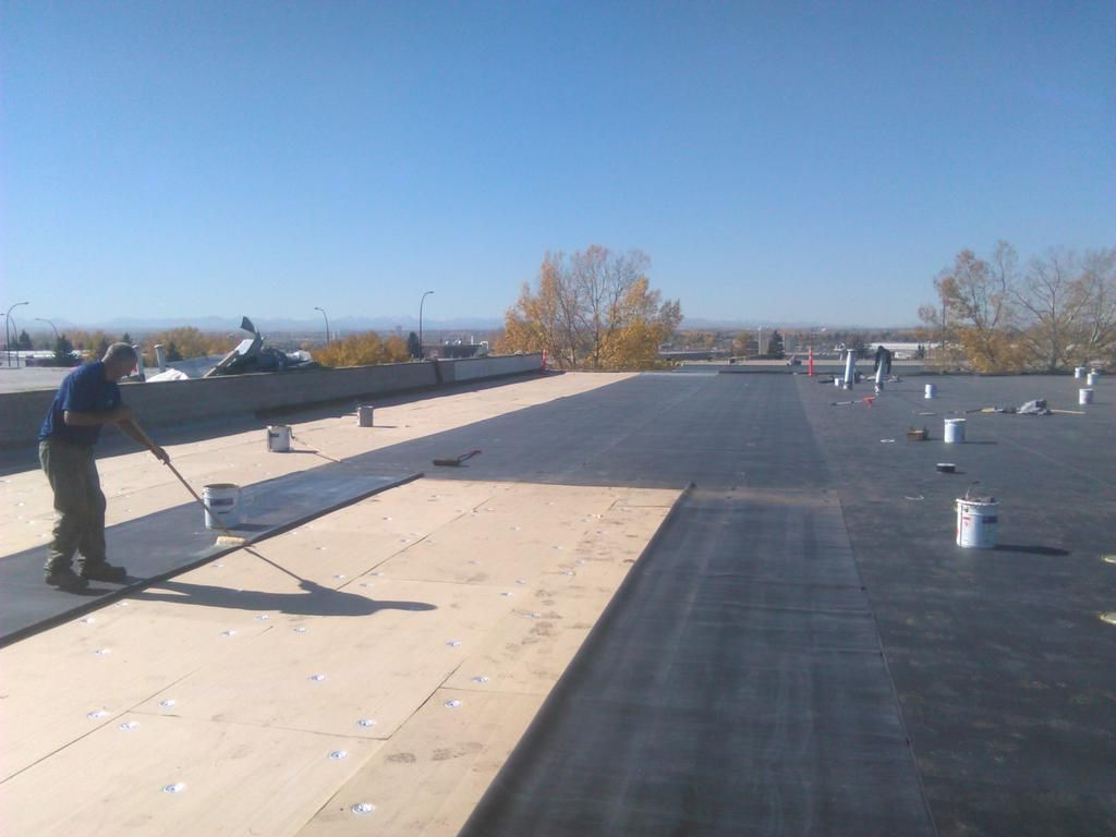 General Roofing Grs On Twitter Commercial Roofing Systems Roofing Systems Commercial Flat Roof
