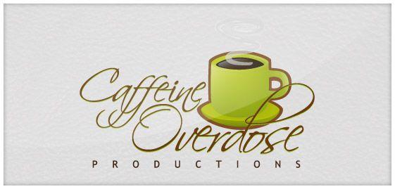 Logo Design for imaginary company named Caffeine Overdose.