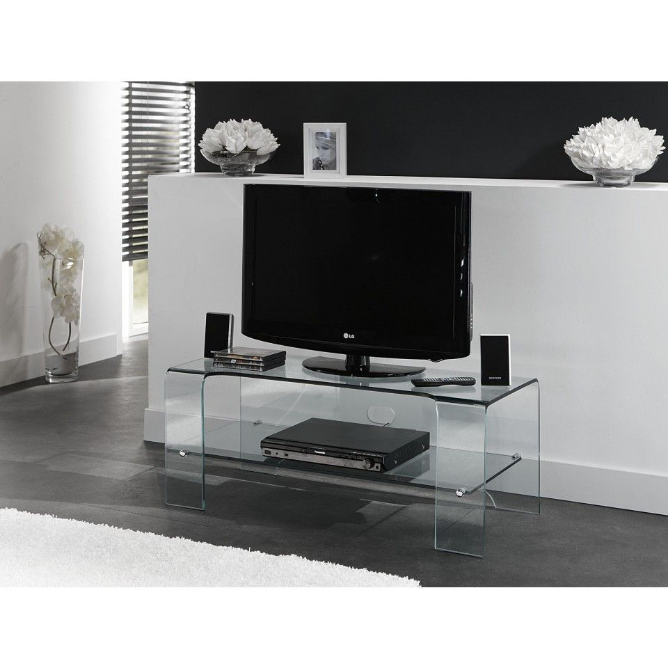 Design Tv Meubel Glas.Glazentafel Com Glazen Tv Meubel Tavira 3500 Curved Series
