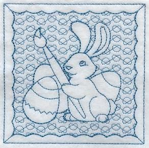 Machine Embroidery Designs at Embroidery Library! - Easter Trapunto
