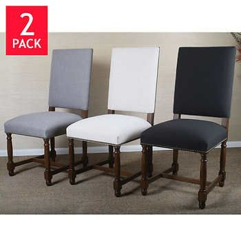 Tremendous Caroline Dining Chair 2 Pack Have A Seat Dining Chairs Machost Co Dining Chair Design Ideas Machostcouk