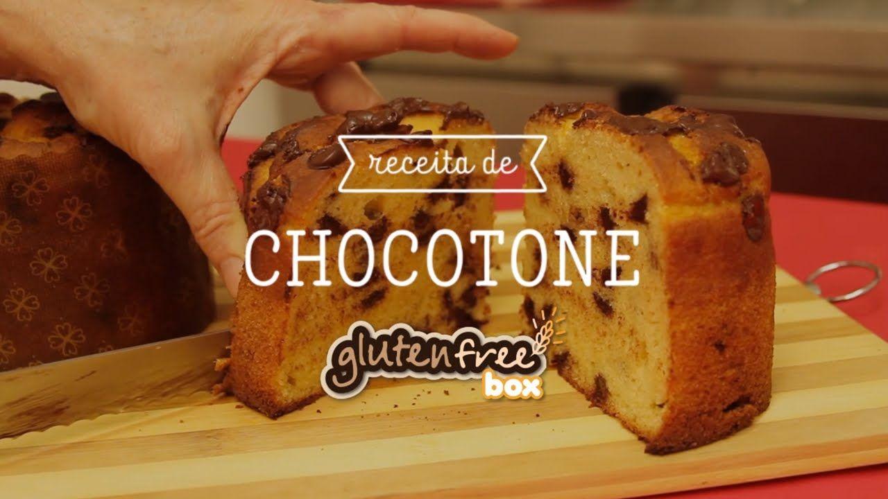 Receita de Chocotone Sem Glúten da Pra lá de Bom