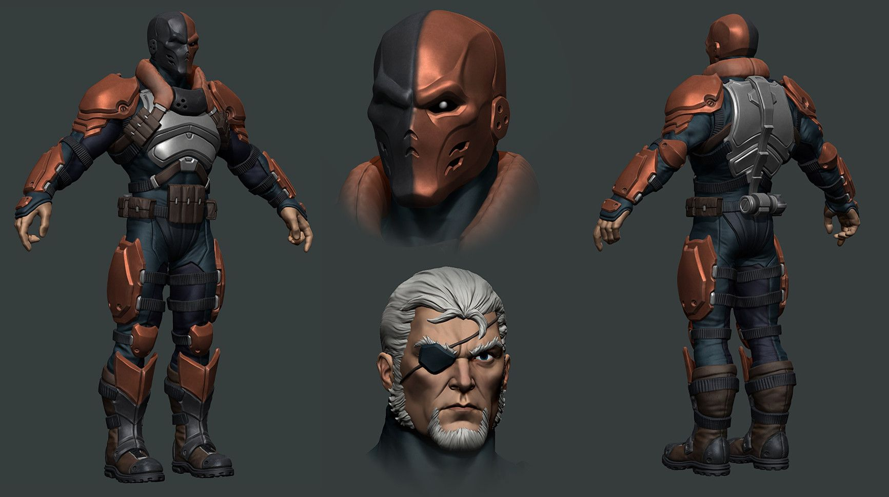Artstation Dc Legends Mobile Game Characters