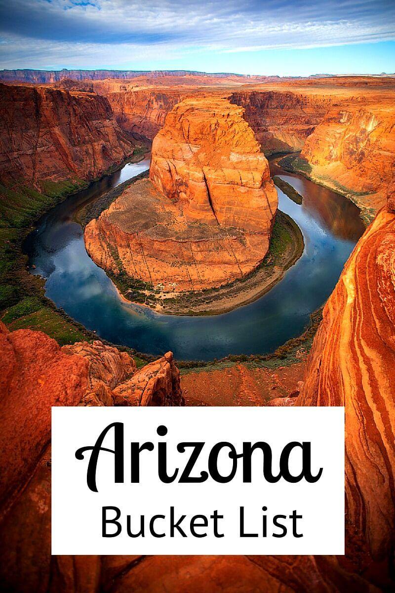 Best things to Do in Arizona Bucket List