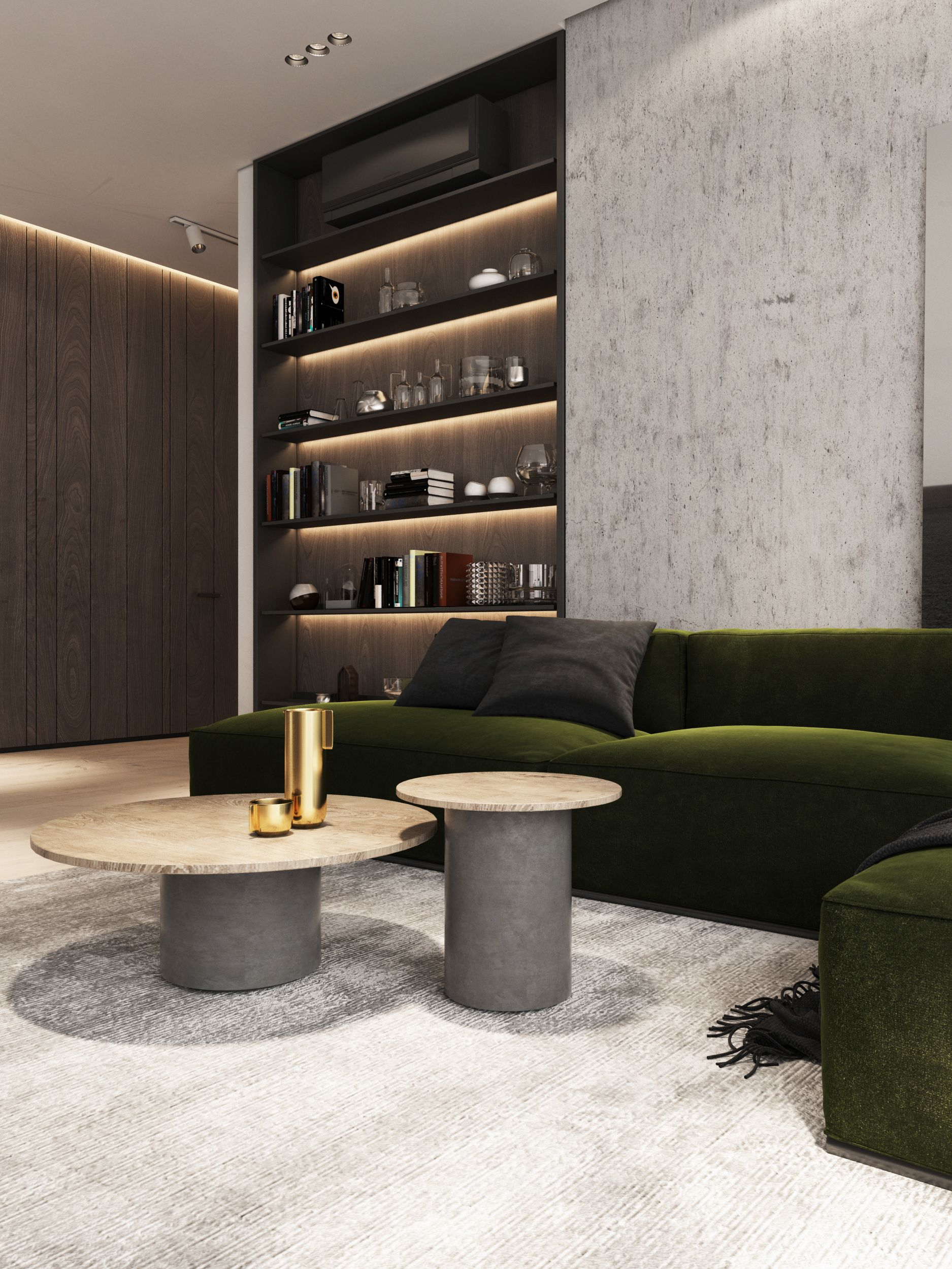 Check Out This Behance Project Sw3 App Https Www Behance Net Gallery 60520159 Luxury Apartments Interior Apartment Interior Interior Design Living Room