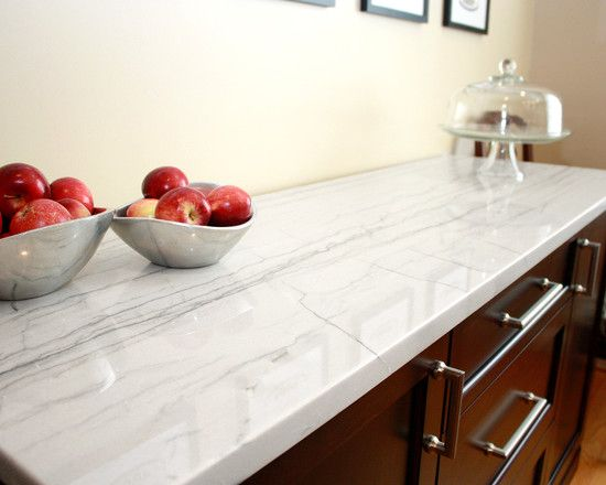 Two Kinds Of Granite That Looks Like Marble : Exquisite Contemporary  Kitchen Table And Drawers With