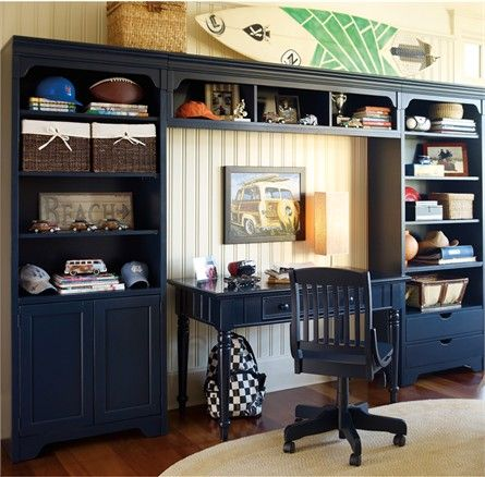 Dana Above Desk Wall Storage Unit With Doors And Drawers