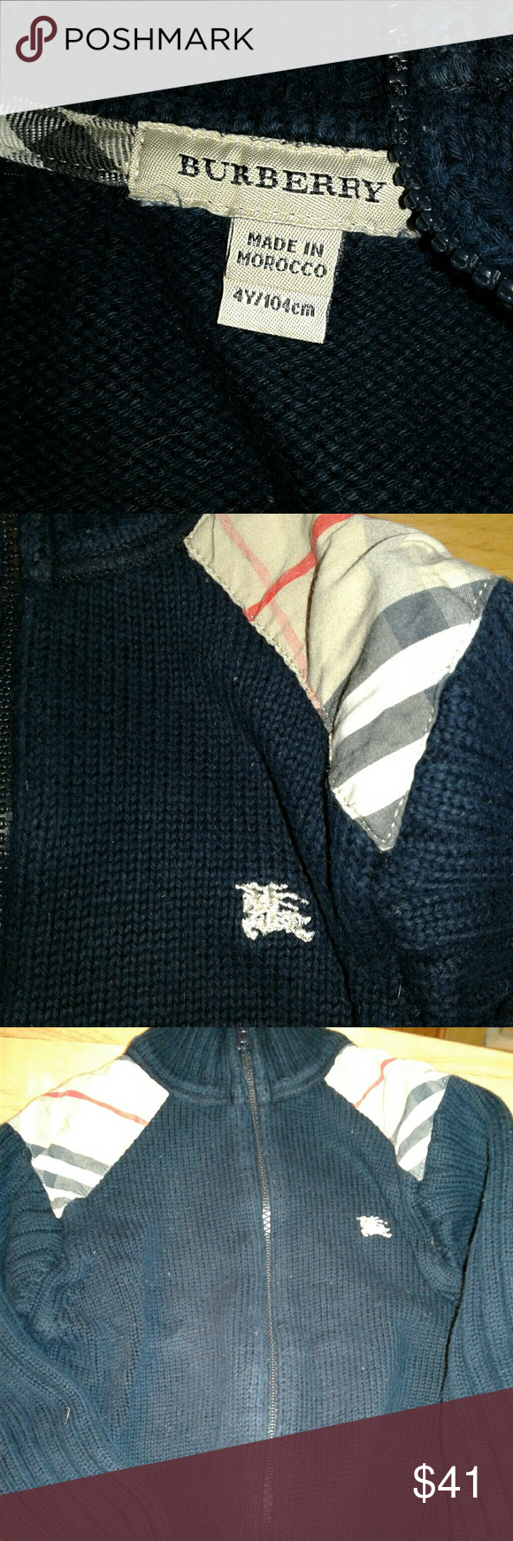 Burberry Sweater And Polo Rl Top Combo Burberry Sweater Sweaters Burberry