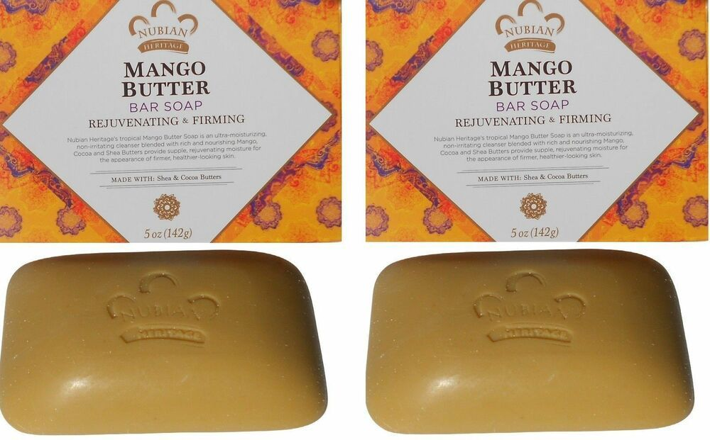 Twin Pack 2 Mango Soaps 5oz Shea Butter Bar Unspecified