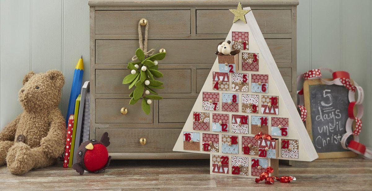 How to Make a Tree Advent Calendar Advent calenders, Advent