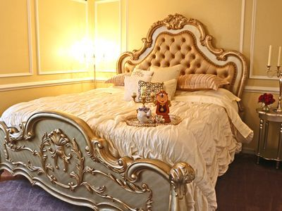 Belle S King Master Bedroom Enchants Your Adult Guests W A