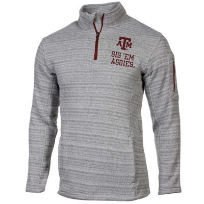 Texas A&M Aggies Touchback Quarter Zip Fleece Sweatshirt