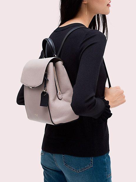 0f72a43b1b85 Kate Spade Grace Medium Backpack, Warm Taupe/Black in 2019 ...