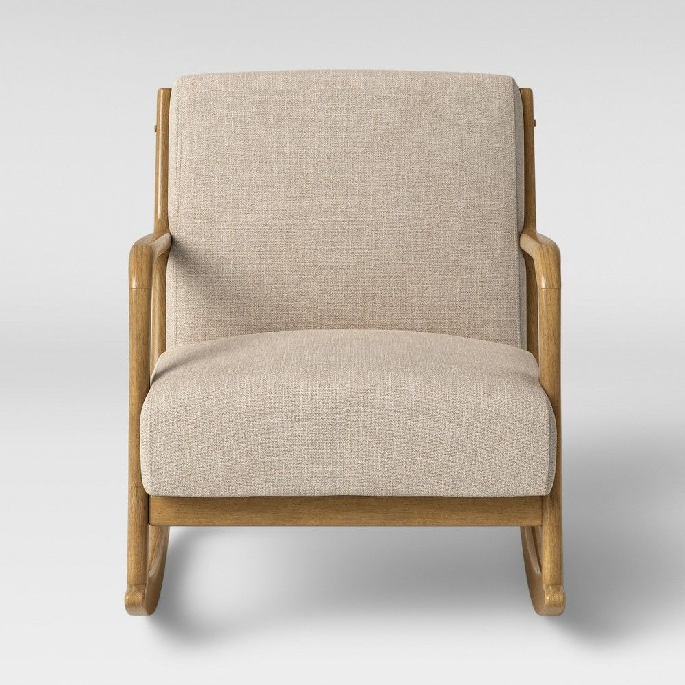 Rocking Accent Chairs Esters Rocking Accent Chair Cream Ivory Project 62 Products