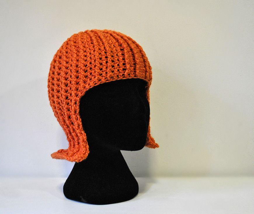 Crochet Wig | stuff to make | Pinterest | Handschuhe häkeln ...