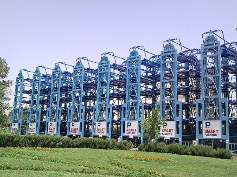 Smart parking solution inc offers a compelling vertical for Parking solutions for small spaces