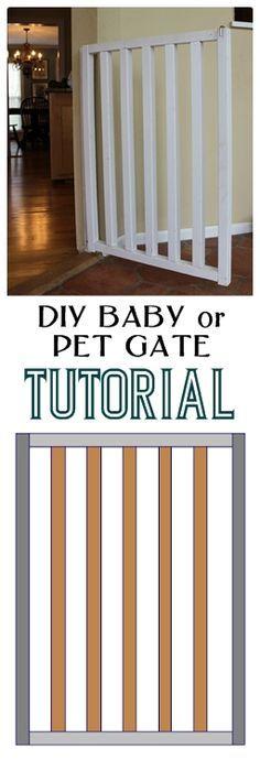 Walk Through Safety Gate Home Kitchen Accessory Hallway Door Pet Toddler White