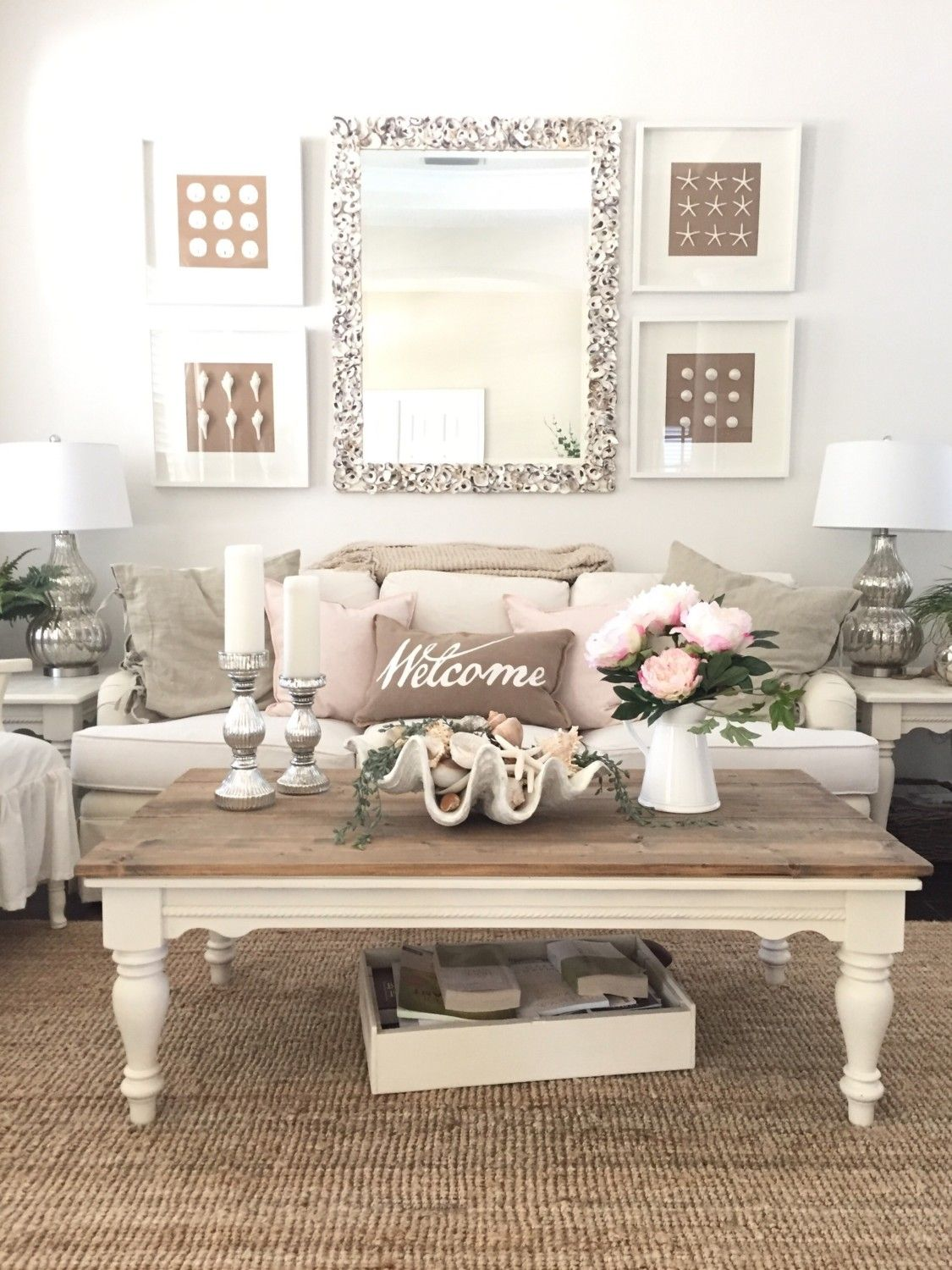 Blush Pink for the Cottage February | to make a home | Pinterest ...