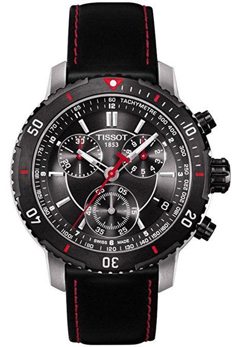 0cfe273bd818 Tissot Tissot PRS 200 Cronógrafo Negro Dial Mens Reloj  T0674172605100-PREFERIDO-